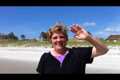 Mom at Beach